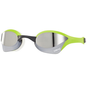 arena Cobra Ultra Mirror Goggles, silver-green-white